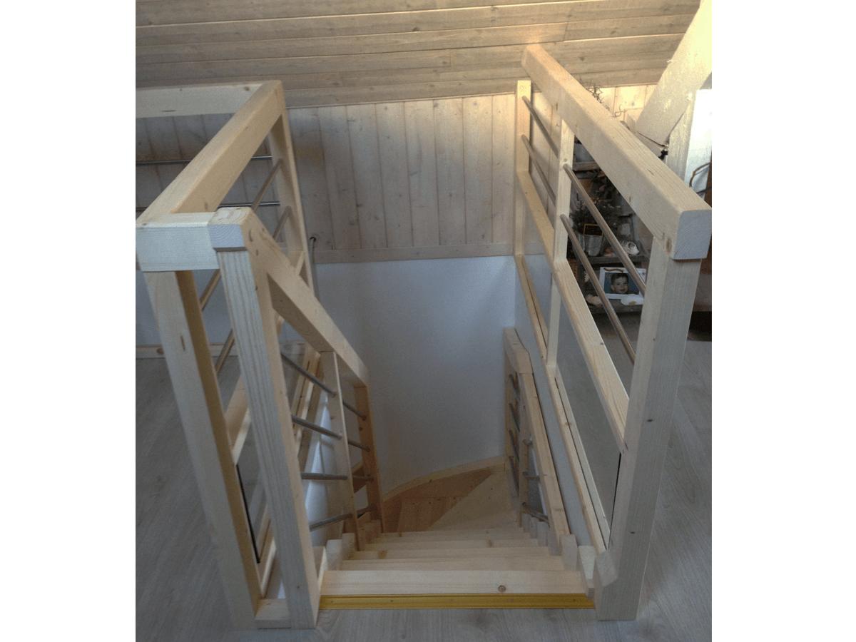 menuiserie patrick couton parempuyre produits services escaliers diapo 03 - Escaliers