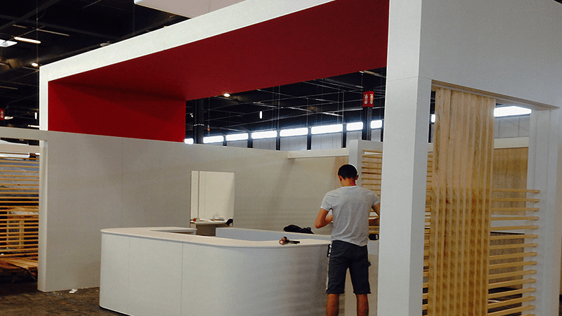 menuiserie patrick couton parempuyre produits services stands - Stands d'exposition